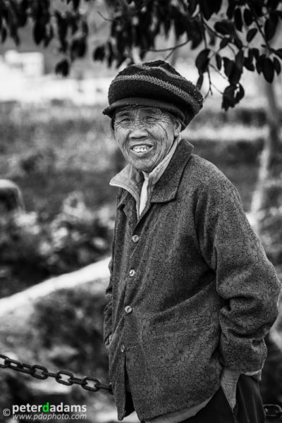 Rural Chinese Peasant, near Yangshuo