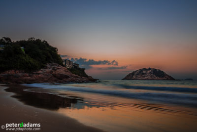 Sunrise, Shek O, Hong Kong