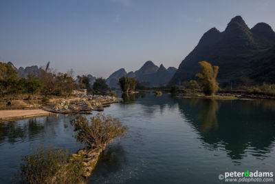 River Scene, near Yangshuo