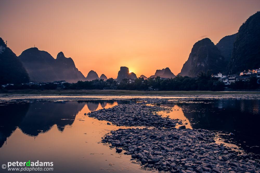 Sunset, Yangshuo