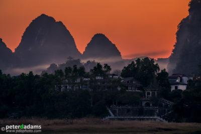 Sunset, Yangshuo
